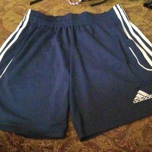 Mens Adidas Climalite Soccer Gym Shorts Medium